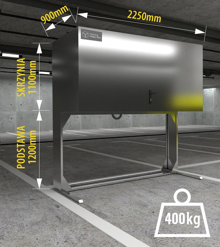 boksy garażowe 230cm wymiary